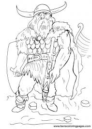 viking coloring pages viking warrior coloring free