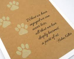 sympathy for loss of dog pet sympathy card etsy