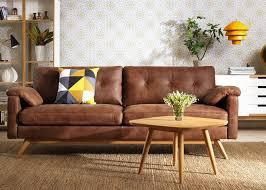 ikea leather sofa tufted leather sofa ideas modern home interiors image of interior