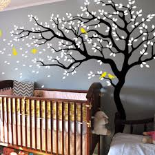 compare prices on tree wall sticker online shopping buy low price white tree wall decal huge tree wall stickers nursery wall decor mural home art