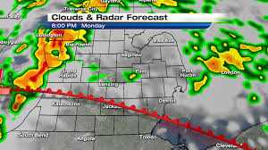 Comerica Park Map Severe Storm Threat Tonight In Se Michigan