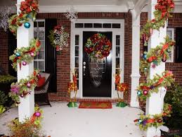 Christmas Porch Decorations Ideas by Front Porch Decorating Ideas For Christmas