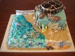 beach birthday cakes a birthday cake