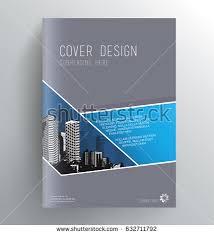 book cover design template abstract splash stock vector 635542883