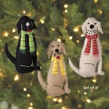 dachshund gift felt dog holiday ornament mitzi the dachshund