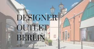 berliner designer outlet designer outlet berlin czy warto tu przyjechać zależna w