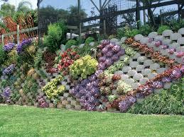 verdura retaining wall blocks are great for garden walls