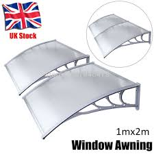 Outdoor Window Awnings And Canopies Aliexpress Com Buy Ship From Uk 1mx2m Diy Outdoor Front Door