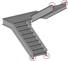 bim u0026 beam custom shape of stair stringer