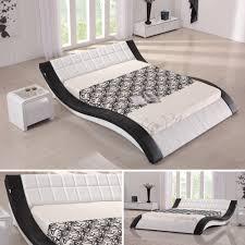 Schlafzimmerschrank Pinie Geb Stet Doppelbett Bettgestell Ehebett Polsterbett Raul 180x200 Designer
