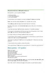 english teaching worksheets indirect questions