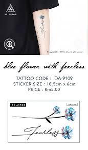 typography tattoos de artoo temporary tattoo