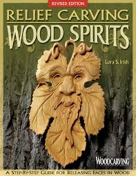 relief carving wood spirits revised edition fox chapel publishing