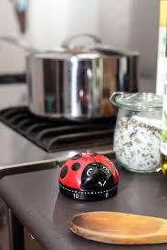 amazon com kikkerland hedgehog 60 minute kitchen timer brown