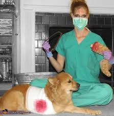 Halloween Costume Ideas For Pets Surgery Gone Wrong Pets Halloween Costume Ideas