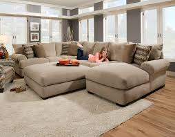 Modern Reclining Sectional Sofas by Interesting Giant Sectional Sofa 64 With Additional Modern
