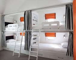 bedrooms cool modern loft bedroom with white bunk beds feat