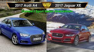 xe lexus sedan 2017 audi a4 vs jaguar xe compact sport sedan smackdown part 3