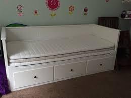 daybed mattress ikea hemnes day bed w 3 drawers 2 mattresses white