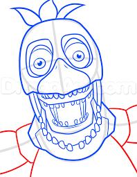 draw toy chica beak alltoys
