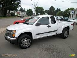 2008 chevrolet colorado lt extended cab 4x4 in summit white
