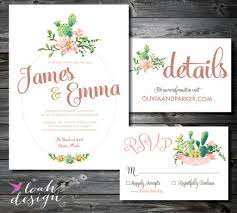 wedding invitations miami 22 gorgeous succulent wedding invitations mid south