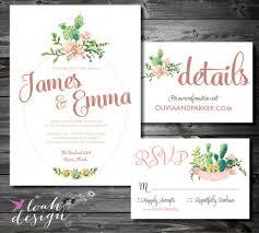 wedding invitation suite 22 gorgeous succulent wedding invitations mid south