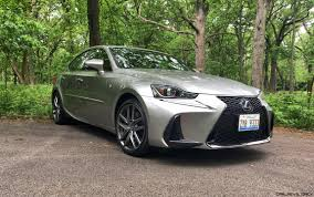 dark green lexus 2017 lexus is350 f sport rwd road test review performance