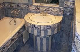 Bathroom Vanity For Small Bathroom Bathroom Design Cool Black White Brown Glass Mosaic Tile Small