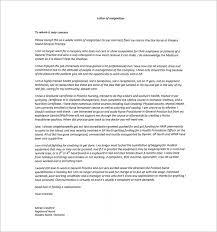 nursing resignation letter template u2013 6 free word excel pdf