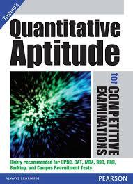 quantitative aptitude for competitive examinations 1st edition