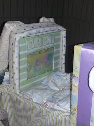 back seat of jeep diaper cake picture frame lala u0027s specialties