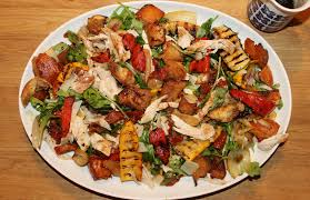 the ultimate italian roast chicken salad homemade with mess