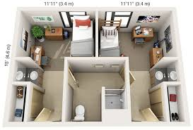 in suite designs rates information housing dining services