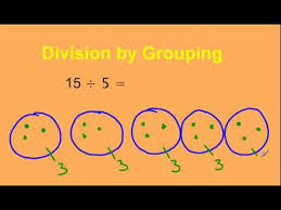 division by grouping tutorial youtube