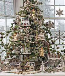 putz barn ornament cardboard house christmas village