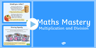 2 maths mastery multiplication and division powerpoint