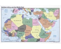 Bahrain Map Middle East by Maps Of North Africa North Africa Maps Collection Of Detailed