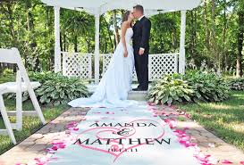 personalized aisle runner custom aisle runners the best wedding by marilyn s