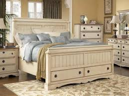 distressed white bed foter pertaining to frame decor 8 bedroom