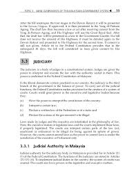Bio Di Malaysia topic 3 components of the malaysian government system