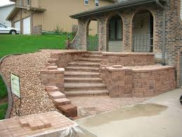 Patio Retaining Wall Ideas Simple Retaining Wall Ideas For Slope Best House Design
