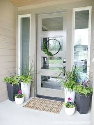 Outside Entryway Decor Doorways Are For Decorating Spring Doorways And Patios