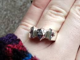 i made a d20 engagement ring for my secret d u0026d