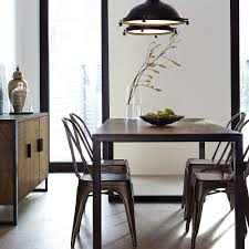 atelier industrial metal dining chair dining chairs seating shop