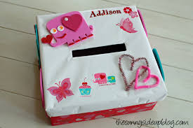 Valentine Decorated Boxes Ideas by A Valentines Box The Sunny Side Up Blog