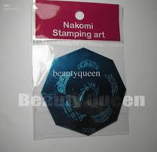 nail art stamp stamping image plate french u0026amp full nail design