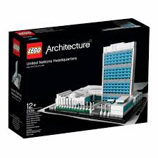Lego Headquarters Lego Architecture Landmark Series The United Nations