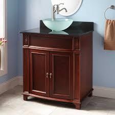 walnut bathroom vanity refined vanity signature hardware