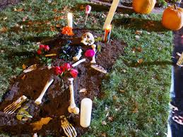 day of the dead decorations day of the dead skeleton graveyard hgtv